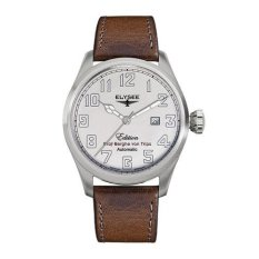 Elysee Male Watches Hammersbach Jam Tangan Pria - Cokelat - Strap Leather Strap - 38010