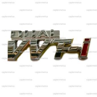 Emblem DUAL VVTI Logo Bodi Body Mobil Metal Sticker Stiker ToyotaNew Great Avanza Calya Kijang Innova