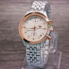 Emporio - Watch Women - Design Elegant - Chain Strap - Quality Super - Chrono Active
