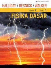 Erlangga Soft Cover Buku Merah - Fisika Dasar Jl.1 Ed.7 : Halliday