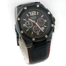 Esprit 102541 Leather Strap Hitam