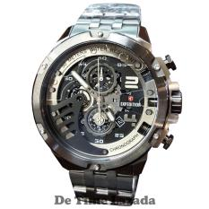 Expedition E6708 Jam Tangan Pria Stainless Steel Silver