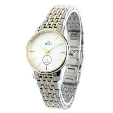 EYKI EFLS8780S-SG01 Fashion Elegant Women's Stainless Steel Strap Quartz Wristwatch - Golden + Silver (Intl)