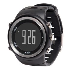 EZON High Quality Multi-functional Outdoor Sports Watch High-end 5ATM Water Resistant Man Wristwatch With Function Of Calendar Alarm Hourly Chime Speed Measure Step Calculation Calorie Counter BMI Index - Intl