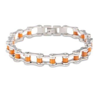 Fashion Bike Bracelet Chain (Orange)