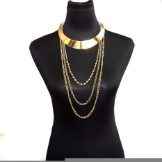Fashion Body Chain Necklace Big Chokers Fashion Accessories Summer Layered Body Chains Simple Necklace Trendy Jewelry (Intl)