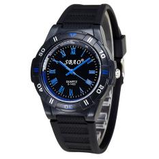 Fashion High-grade Quartz Watch Couple Watch Blue