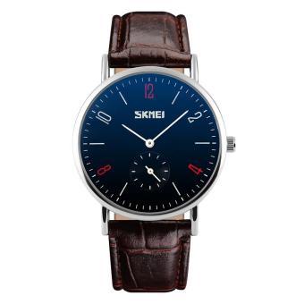 Fashion SKMEI 9120 Classic Lovers Couple Watch Quartz Waterproof Automatic Date Wrist Watches Women Men's Watches