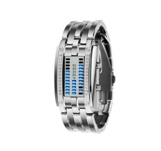 Fashion Sports Woman Wrist Watch Outdoor Sports Watches 092602 Silver (Intl)