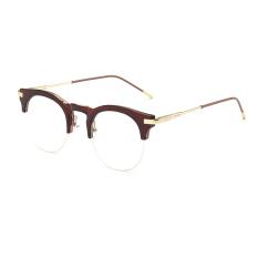 polos untuk miopia wanita kacamata bingkai kacamata Fashion Vintage Retro Kacamata Mata Kucing .