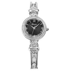 Fehiba KIMIO Quartz Watch Female Casual Fashion Bracelet Watch Fashion Female Form 556s (Black)