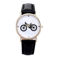 Female Wristwatches Luxury Style Ladies Wristwatch Gifts For Girl Full Stainless Steel Dial PU Leather Watch Band (Intl)