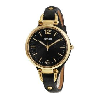 Fossil End-of-Season Georgia Analog Black Dial Women's Watch - ES3148 (Gold)