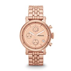 Fossil ES3380 - Original Boyfriend Chronograph Rose-Tone Stainless Steel Watch - Rose Gold