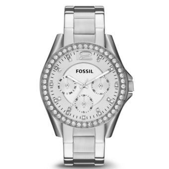 Fossil Jam Tangan Wanita Fossil ES3202 Riley MultifunctionStainless Steel Watch