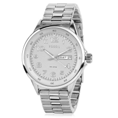 Fossil Jam Tangan Wanita - Silver - Stainless Steel - Fossil AM4342