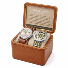 Fossil Limited Edition Trench Two-Hand Watch Set, LE 1040
