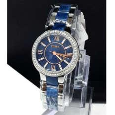 Fossil Premium - Jam Tangan Wanita - Stainless Steel - Fossil ES4009