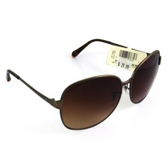 Cat Eye Retro Sunglasses -Kacamata Wanita - Brown - CHF 008 BRW LEOPARD. Source