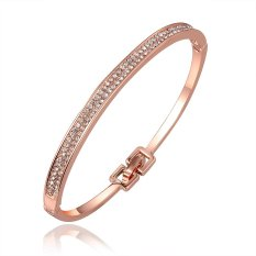 G066Good Quality Nickle Free Antiallergic 2015 New Fashion Jewelry 18K Gold Plated Bracelets (Intl)