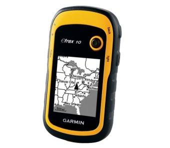 Garmin eTrex 10 - Kuning