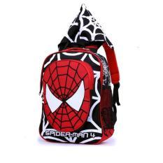 Garsel Tas Ransel Backpack Sekolah GYN5877 - Hitam - Plus Gratis Hoodie