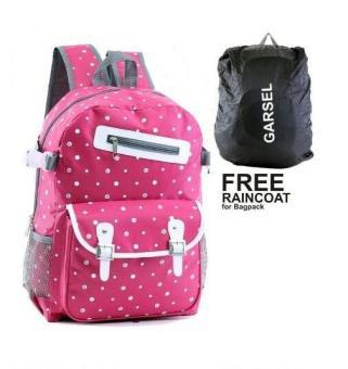 Garsel Tas Ransel Backpack Sekolah Kuliah Kerja 3 In 1 Source · Garsel Tas Ransel Sekolah Perempuan Pink Plus Gratis Rain Cover Pelindung Hujan