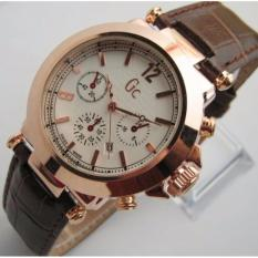 GC-Jam Tangan Wanita GC Gues Collection-GS858L35-Tanggal Aktif - Rose Case
