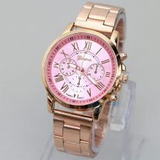 ... Dial - Silver Stainless Steel Band. Source · GENEVA Jam Tangan Wanita Watches Analog Fashion Women Steel CasualWrist Gold Alloy Watch GN65AD PinkGold