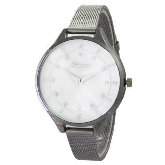 Geneva Sands Fashion Watch GNV 1819 Silver - Jam Tangan Wanita - Silver