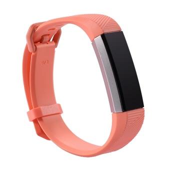 GETEK Fitbit Alta HR Band Secure Strap Wristband Buckle Bracelet Fitness Tracker Size:L - intl