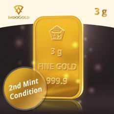 Gold Antam Emas Logam Mulia 3 Gram Tahun 2011- 2015