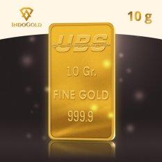 Gold Logam Mulia Emas UBS Untung Bersama Sejahtera 10 Gram