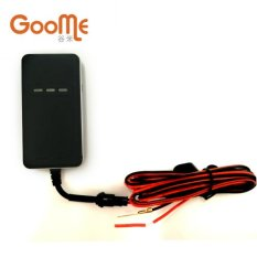 Goome Real-time GPS Vehicle Tracker TR02 For Car Motorcycle Web-based Tracking Life-time Platform (Black)