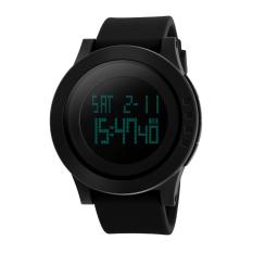 Gracefulvara Cool Men Fashion Sport Waterproof LED Digital Analog Quartz Watch Gifts (Intl)