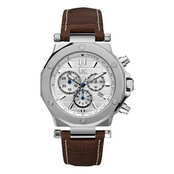 GUESS COLLECTION Gc-3 CHRONO X72001G1S - Chronograph - Jam Tangan Pria - Leather -
