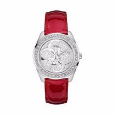 Guess - Jam Tangan Wanita - Strap Merah - W0627L5