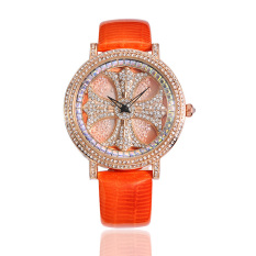 Hazyasm Sousou 2016 New Listing Watches Import Movement Watch Factory Direct Wholesale (Orange)