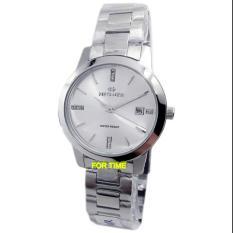 Hegner - H3906L - Jam Tangan Wanita - Strap Stainless Steel - Silver