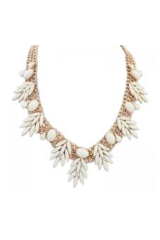 HKS HKS7222QZ Necklace Offwhite
