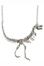 HKS Punk Style Necklace Statement Dinosaur Funky (INTL)