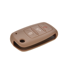 HomeGarden Keyless Entry Remote Holder For VW Volkswagen Jetta Passat Coffe (Intl)