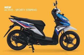 "Honda All New Beat ESP CBS khusus Daerah Yogyakarta ""[ Blue White ]"""