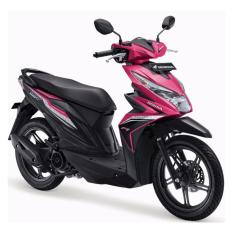 Honda - BeAT Sporty CBS ISS - Fuhsion Magenta Black