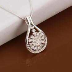 Hot Brand New Fashion Popular Chain Necklace Jewelry Round Shape Crystal Beautiful - Intl