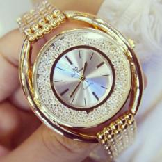 Hot Sale Fashion Watch Diamond Watches Steel Lady Casual Watch Specials Luxury Female Wristwatches - intl