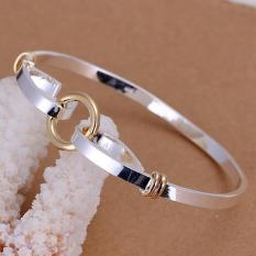 Hot Sales Of Simple Silver Bracelet Fashion Silver Plated Bracelet