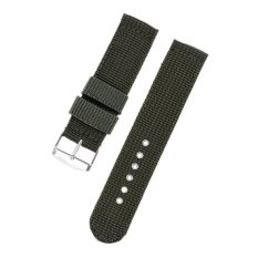 Hot Selling Fashion Watch Wristband For General Watch-Green 24Mm - Intl