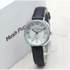 HP - Jam Tangan Wanita Hush Leather Strap Tali Kulit Silver Style Puppies