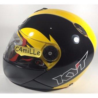 harga Helm Full Face KYT X Rocket / Xrocket Black Yellow Lazada.co.id